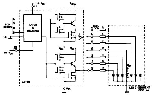 7 Segment Display Circuit on aircon motor wiring diagram
