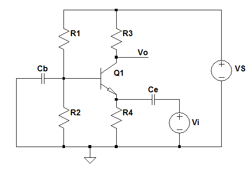bjt common base amplifier