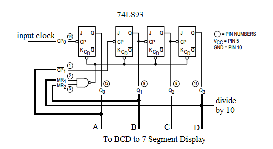 12h  24h digital clock circuit