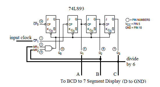 h/h digital clock circuit  online digital electronics course, wiring diagram